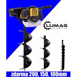Pôdny vrták Lumag EB 520G