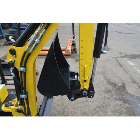 Rýchloupínak lyžíc pre minibager TUR