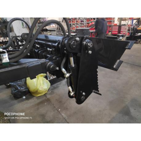 Lyžica pre mininakladač 4 v1 plne hydraulická