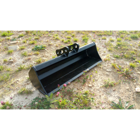 Svahová lyžica na minibager TUR 60 cm