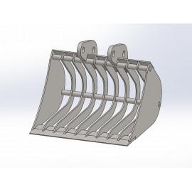 Skeletová Lyžica 41 cm pre minibager Fénix 400