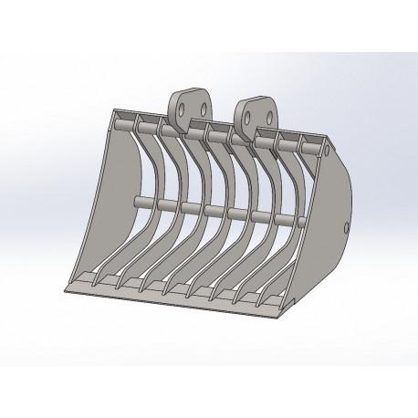 Skeletová Lyžica 40 cm pre minibager Fénix 400