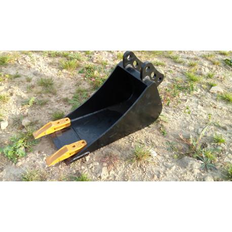 Lyžica na minibager TUR 20 cm predĺžená verzia