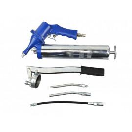 Pneumatická mazacia pištoľ-dekalamitka, maznica 400 ml s príslušenstvom