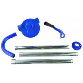Ručná pumpa na pohonné hmoty a olej 130 cm s kľukou 25 l/min