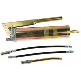 Mazacia pištoľ-dekalamitka, maznica 400 ml s príslušenstvom