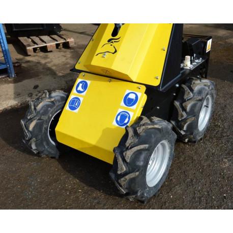 Široké kolesa traktor pre mininakladač N520